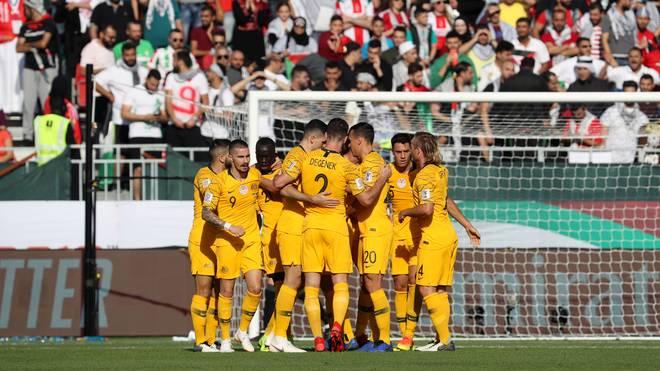 Asien-Cup: Australien schlägt Palästina 3:0 - Achtelfinale winkt
