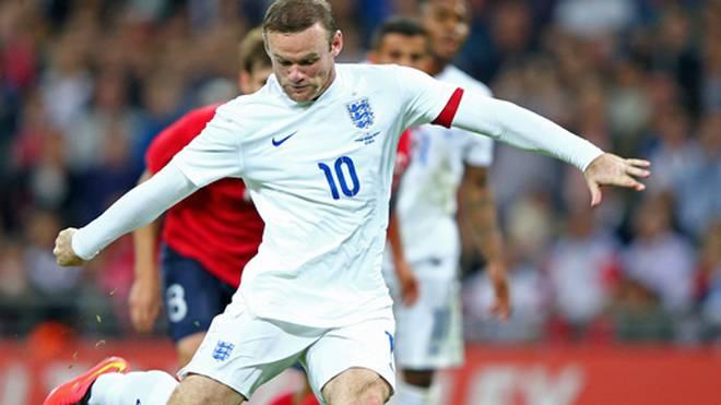 Wayne Rooney ist Englands neuer Spielführer