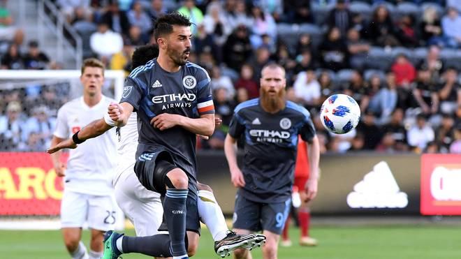 New York City FC v Los Angeles FC: David Villa spielte mehrere Jahre in der MLS