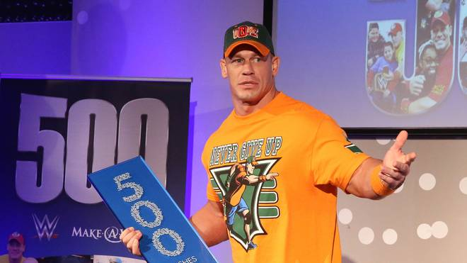 John Cena ist unter anderem bei der Make-A-Wish Foundation sehr engagiert