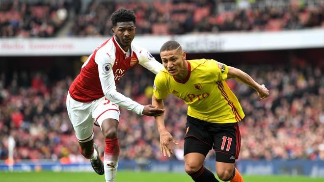 Richarlison (r.) erzielte in der vergangenen Saison fünf Tore für den FC Watford
