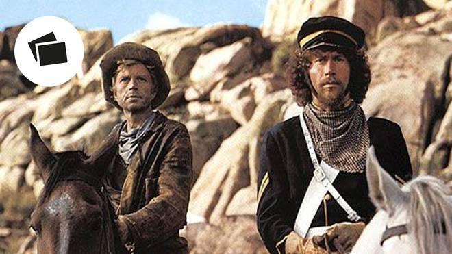 """Paul Breitner (r.) tat sich auch als Darsteller im Film """"Potato Fritz"""" hervor"""