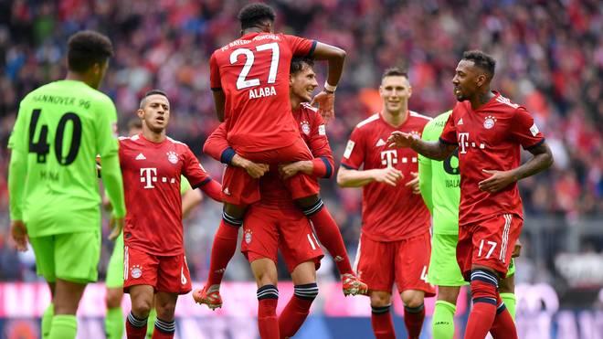 Der FC Bayern braucht noch zwei Siege zur Meisterschaft