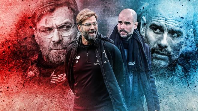 Jürgen Klopp und Pep Guardiola treffen zum 15. Mal in ihrer Karriere als Trainer aufeinander