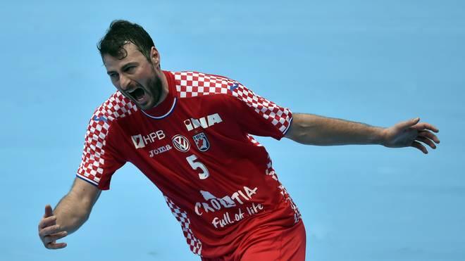 Domagoj Duvnjak war bester Werfer der Kroaten beim Sieg gegen Mazedonien