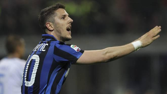 Stevan Jovetic muss mit Inter Mailand beim FC Genua unbedingt gewinnen