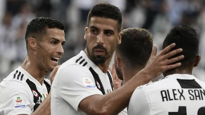 Sami Khedira hat bei Juventus Turin das Mannschaftstraining wieder aufgenommen