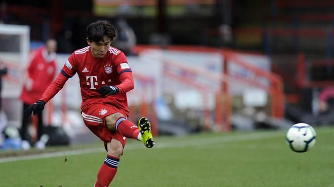 Woo-Yeong Jeong kann mit dem FC Bayern II in Schweinfurt die Meisterschaft perfekt machen