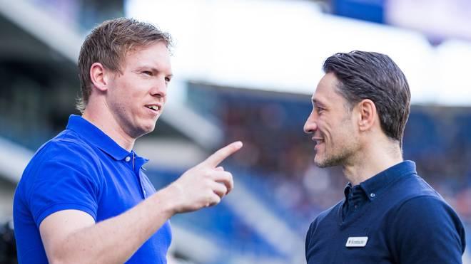 Julian Nagelsmann (l.) kann die Aussagen von Niko Kovac zu seinem Wechsel nach München verstehen