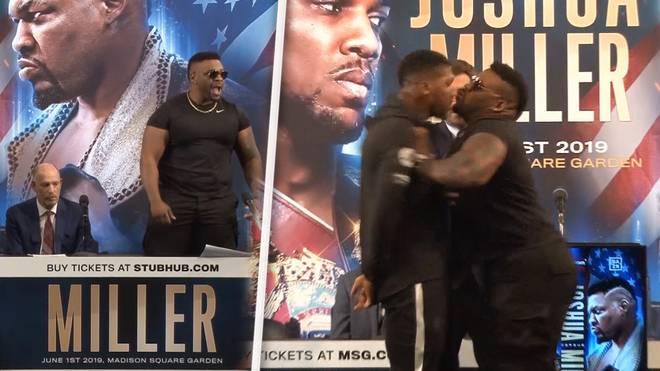 Anthony Joshua vs. Jarrell Miller: Krawall auf der Pressekonferenz