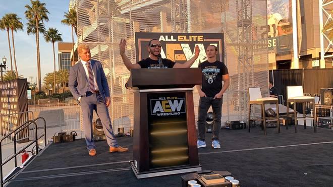 Cody Rhodes (l.) und die Young Bucks wurde von WWE mit einem Mega-Angebot umgarnt