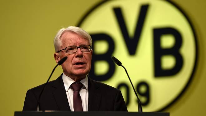 Dr. Reinhard Rauball ist Präsident von Borussia Dortmund
