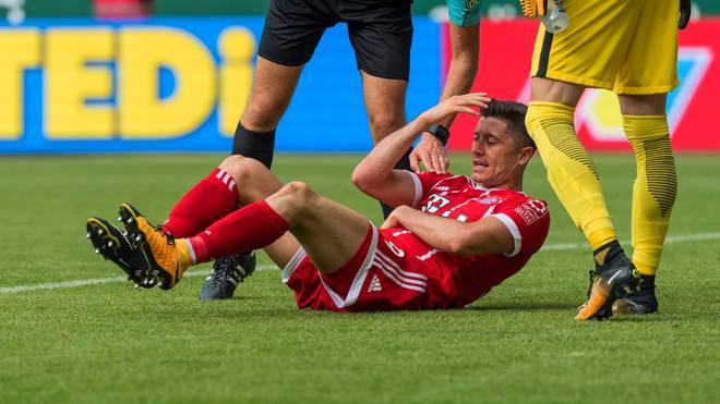 Robert Lewandowski erzielte für den FC Bayern gegen Werder Bremen einen Doppelpack