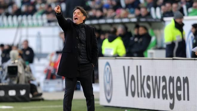 Bruno Labaddia kann seinen Ex-Verein Hamburg aus der ersten Liga kegeln