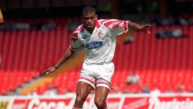 Sunday Oliseh spielte von 1995 bis 1997 beim 1. FC Köln