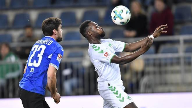Am 19. Spieltag der 2. Bundesliga fällt in der Partie zwischen Bielefeld und Greuther Fürth kein Treffer. Die Arminia hat vor allem bei zwei Pfostentreffern Pech.