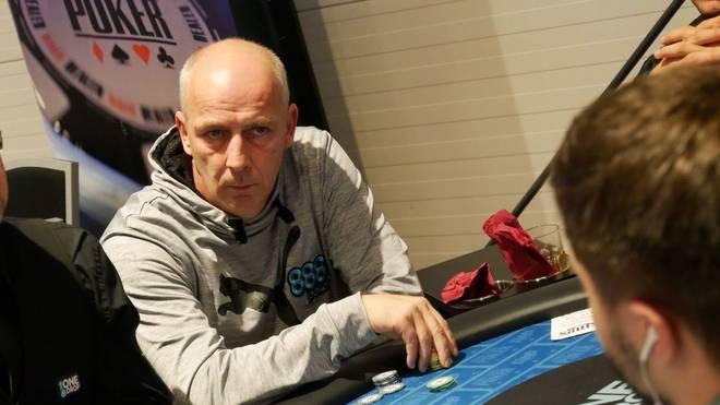 Mario Basler zockte beim Main Event der WSOP Europe