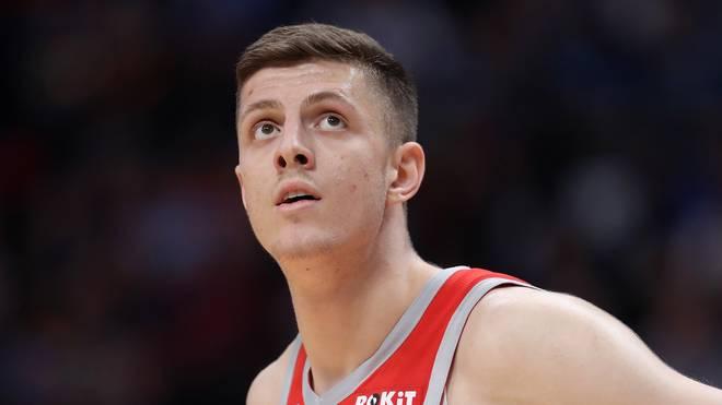 Isaiah Hartenstein steht bei den Houston Rockets unter Vertrag