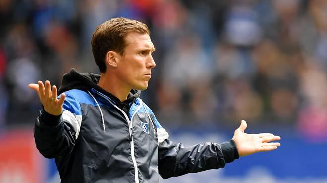 Hamburger SV: Trainer Wolf vor dem Aus, Labbadia, Stöger, Hecking gehandelt ., Trainer Hannes Wolf besitzt beim HSV noch einen Vertrag bis 2020