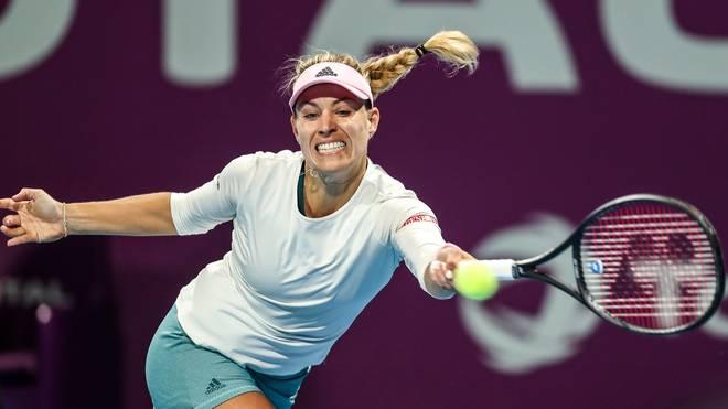 Angelique Kerber musste sich bei ihrem Viertelfinalsieg mächtig strecken