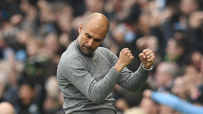 Pep Guardiola trainiert seit 2016 Manchester City