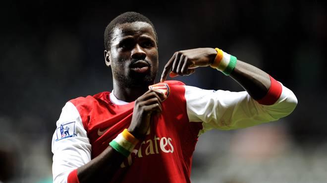 Emmanuel Eboue spielte von 2005 bis 2011 für den FC Arsenal
