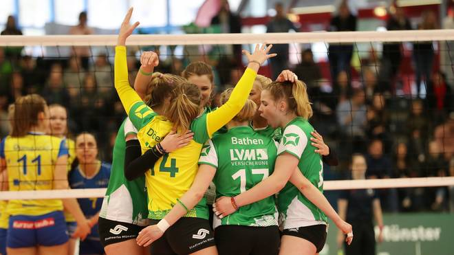 Volleyball-Bundesliga Frauen USC Münster