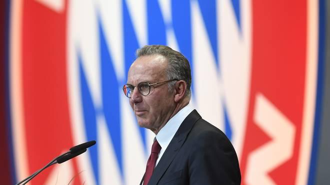 Karl-Heinz Rummenigge ist seit 2002 Vorstandsvorsitzender beim FC Bayern