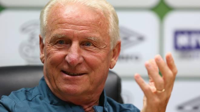 Giovanni Trapattoni trainierte bis 2013 die irische Nationalmannschaft