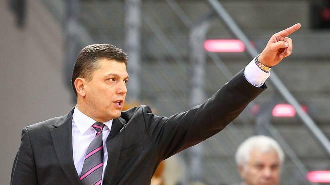 Predrag Krunic ist Cheftrainer der Telekom Baskets Bonn
