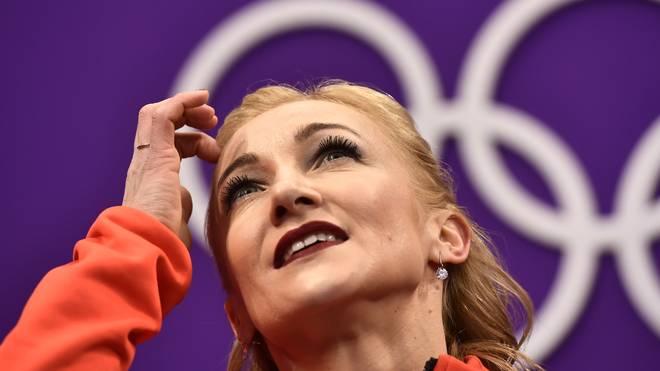 Aljona Savchenko gewann in Pyeongchang die Goldmedaille