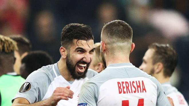 Vor Duell Mit Borussia Dortmund Red Bull Salzburg Besiegt Graz