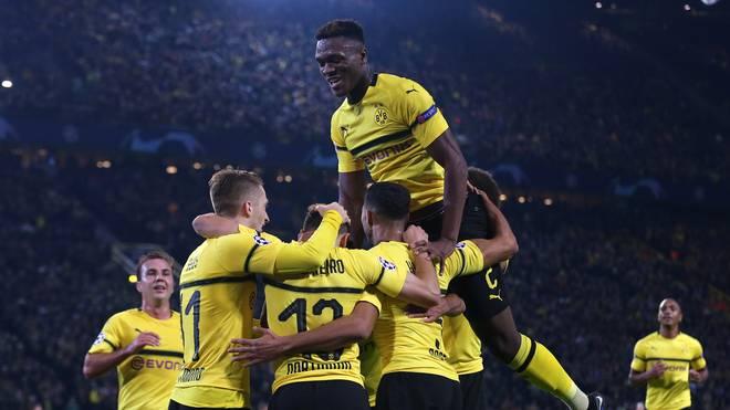 Borussia Dortmund tritt in der Champions League zum Rückspiel gegen Atletico Madrid an