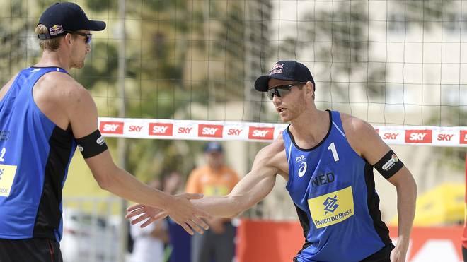 Alexander Brouwer and Robert Meeuwsen waren an Position zwei gesetzt