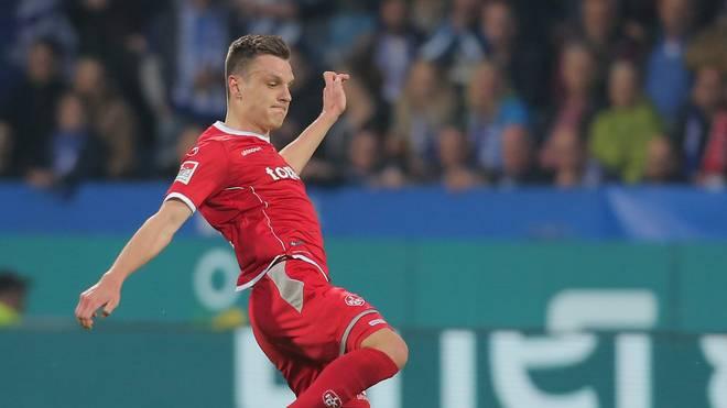 Gino Fechner musste mit dem 1. FC Kaiserslautern gegen Cottbus eine Pleite hinnehmen
