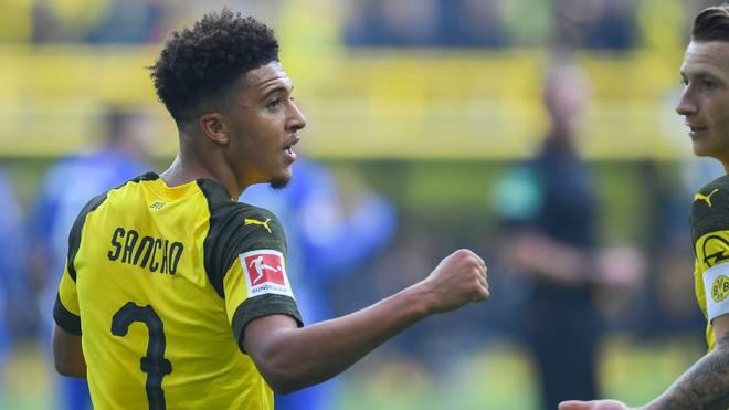 Sancho stellt Bundesliga-Rekord auf