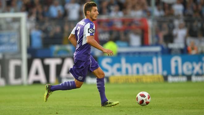 Bashkim Renneke erzielte das entscheidende Tor für den VfL Osnabrück