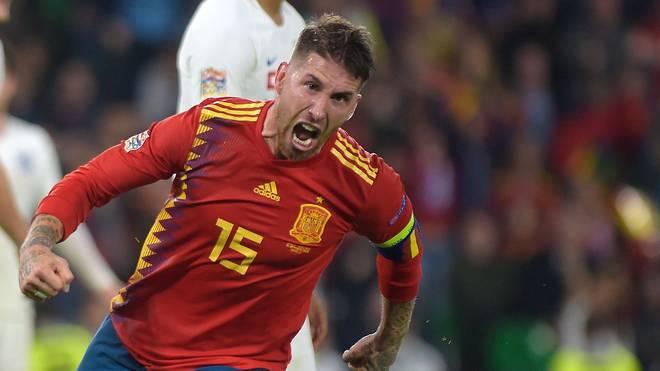 Sergio Ramos peilt mit Spanien einen Auftaktsieg in die EM-Qualifikation an
