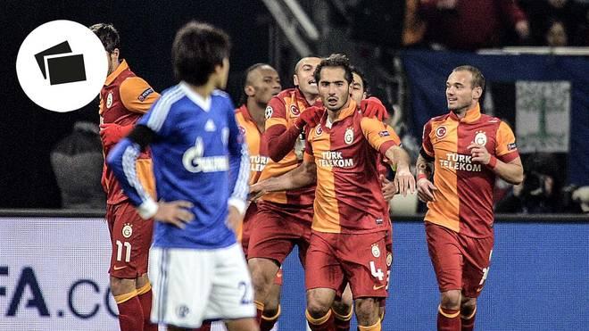 Champions League: Duelle von Galatasaray Istanbul mit deutschen Teams
