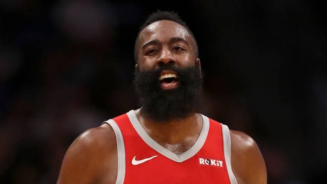 James Harden machte erneut über 50 Punkte für die Houston Rockets