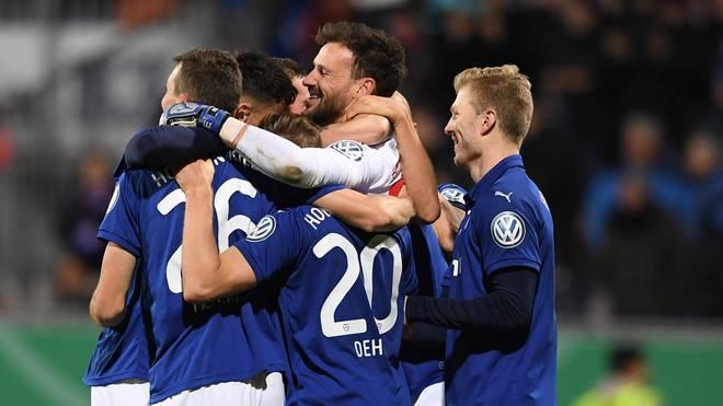 Hostein Kiel feierte einen Sieg gegen den SV Sandhausen