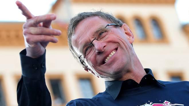 Ralf Rangnick führte Leipzig in der vergangenen Saison zum Bundesliga-Aufstieg