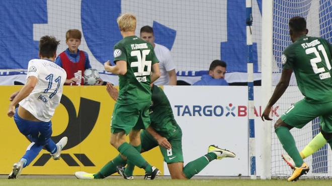 Dfb Pokal 1 Runde Fc Magdeburg Fc Augsburg Wehen Aue