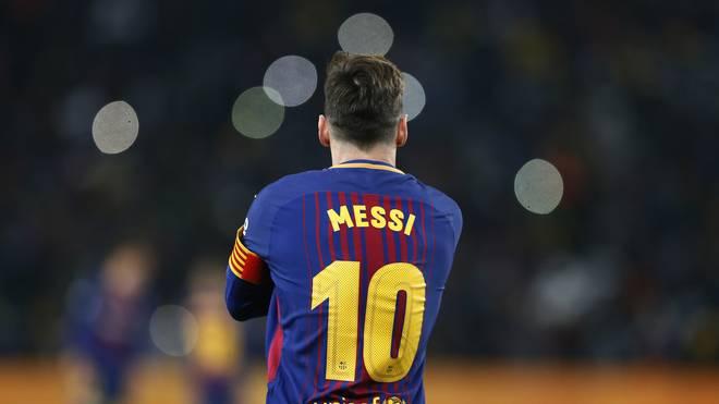 Lionel Messi spielt seit 2000 beim FC Barcelona