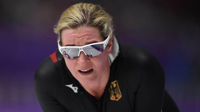 Claudia Pechstein geht auch mit 46 Jahren noch auf Zeitenjagd im Eisschnelllauf
