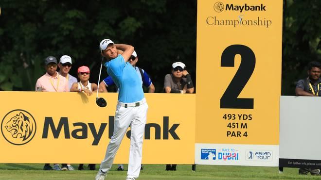 Maximilian Kieffer beendete das Turnier in Kuala Lumpur auf dem fünften Platz