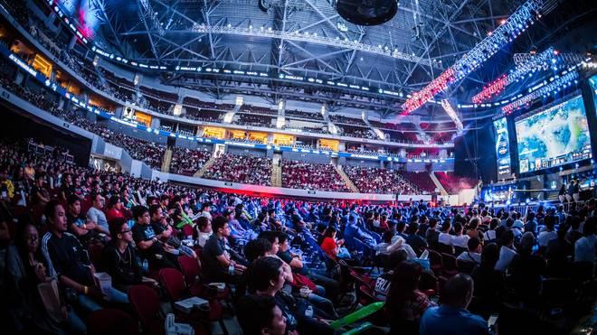 Die ESL One in Manila - Events wie diese werden 2018 exklusiv auf Facebook gezeigt