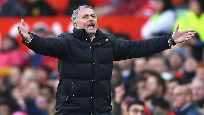 Jose Mourinho trainiert Manchester United seit dieser Saison