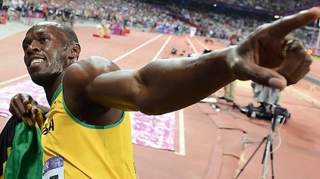 Jamaikas Superstar Usain Bolt beendete 2017 seine Karriere