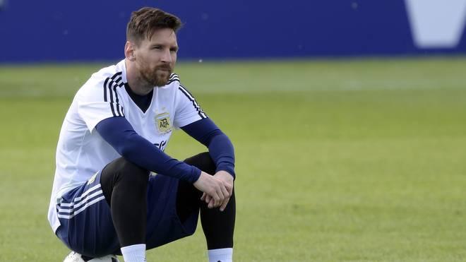 Argentinien erneut ohne Lionel Messi bei Tests im Oktober